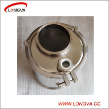 Sanitary Stainless Steel Tri Clamp Spool and End Cap with Pipe Fittings