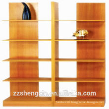 Modern Simple Multilayer MDF Bookcase for Home
