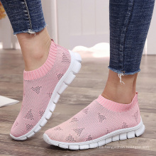 light weight white sole women's casual fashion tennis sock sneakers shoes new arrivals 2020
