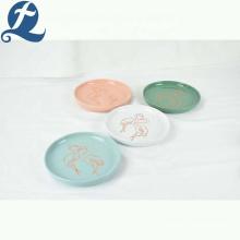 Haute qualité vaisselle restaurant assiette en céramique dîner définit en céramique