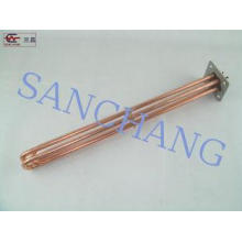 Industrial Electric Copper Heating Element For Gas , Plated