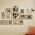 Commémorez la Décoration de Vinyle Imperméable Diy Room Decor Photo Frame Wall Sticker