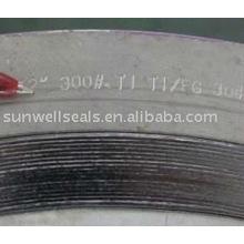 Titanium Spiral Wound Gaskets,Ti2,sunwell have raw materials(SUNWELL)