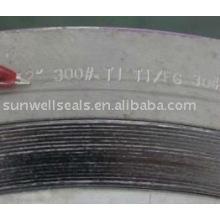 Титановые спиральные набивные прокладки, Ti2, Sunwell имеют сырье (SUNWELL)