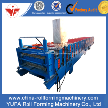 YF Russia Design Roof Panel Roll Forming Machine