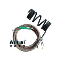 Calentador flexible de bobina para sistema de canal caliente