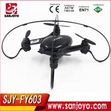 Wifi fpv 2.4ghz 4ch rc quadcopter drone con 0.3MP wifi control remoto quadcopter Drone FY-603