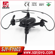 Wifi fpv 2.4ghz 4ch rc quadcopter drone with 0.3MP wifi remote control quadcopter Drone FY-603