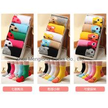 Fantaisie en boîte emballée enfants mignon chaussettes en coton