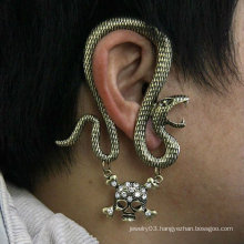 2013Punk Style Earring Jewelry Individual Vintage Skeleton Ear Cuff EC23