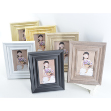 MDF Wooden Grain Picture Frame for Home Decoration