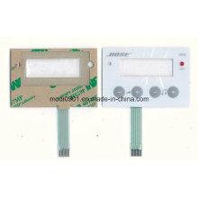 Panneau de clavier adhésif d'étiquette de membrane de polyester de colle de 3m