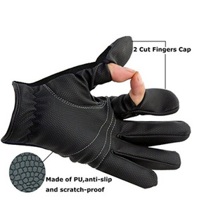 Fishing Special Three Fingers Waterproof Gloves