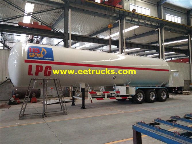 LPG Trailer with Pump