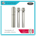 SCALA Slim Twist e Spray Shiny Silver 15ml Refillable Perfume Bottle