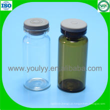 Frasco de vidro tubular de 10 ml