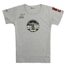 T-shirt com gola redonda usada em fardos para venda