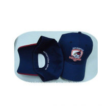 6 panel sports cap with embroidery logo