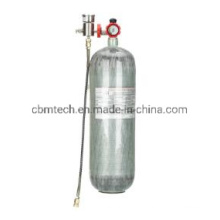 High Purity12L Small Scuba Diving Oxygen Cylinders for Self Contained Underwater