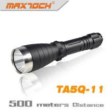 Tocha profunda do diodo emissor de luz 18650 Q5 da longa distância do refletor de Maxtoch TA5Q-11