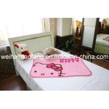 Raschel vison Supersoft 100 % acrylique Baby Blanket (NMQ-LBB008)