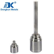 Eje de mecanizado CNC de acero inoxidable