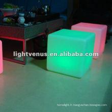 Discothèque étanche IP68, table d'appoint LED disco