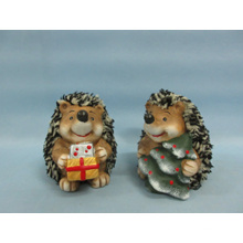 Hedgehog Shape Ceramic Crafts (LOE2529-C9)