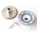 Botones de plata para jeans en movimiento B297