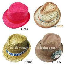 Sombrero barato del sombrero del fedora del camuflaje sombrero del capitán de la manera