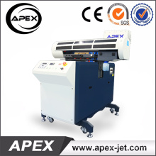 Actualice la impresora UV de cama plana con soporte móvil 60 * 90cm impresora