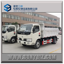 3t 4t 5t Dongfeng 4X2 Recycling Dump Garbage Truck