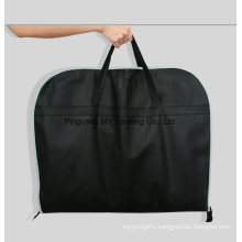 Foldable Zipper Transparent Window Zippered Garment Bag Suit Cover