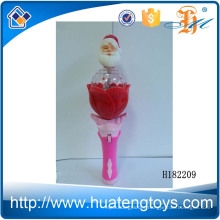 H182209 Hot selling kids Santa Claus music flash all the sky best toys for 2015 christmas gift