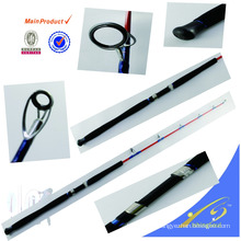 JGR002 _ 1 High quality 2 section carbon jigging fishing rod