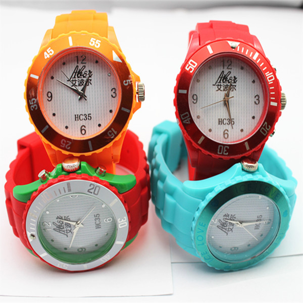 silicone brand watch