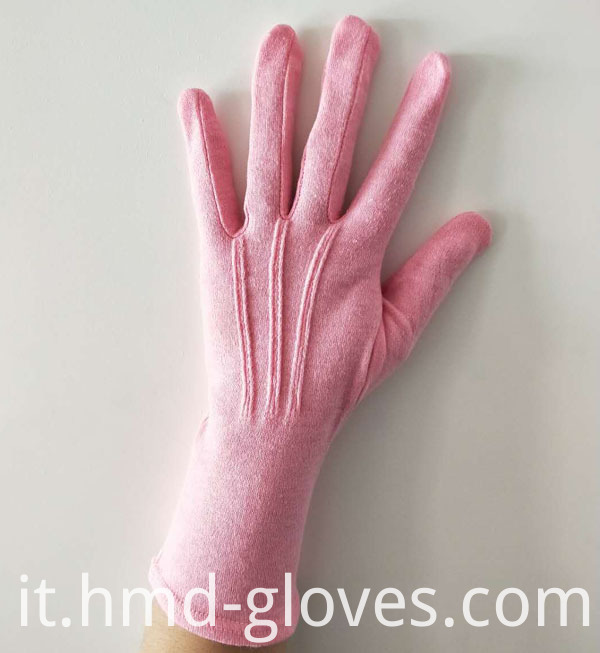 Pink Parade Glove Military Line Back