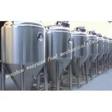 Fermentador cônico do revestimento do glicol do fermentador 3t para a cerveja