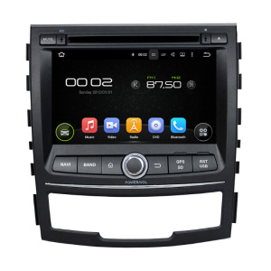 Android 7.1 Car DVD Player For SsangYong Korando