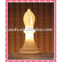 Bishop Design Indoor Decoration Ceramic Night Light