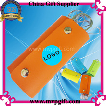 Fashion Leather Key Chain for Promotion Gift