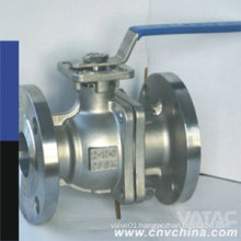 "API6d Cast Steel Body 1/4"" Flanged Ball Valve"