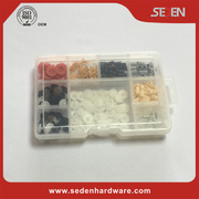 Popular abs plastic acrylic jewelry & cosmetic case storage display boxes