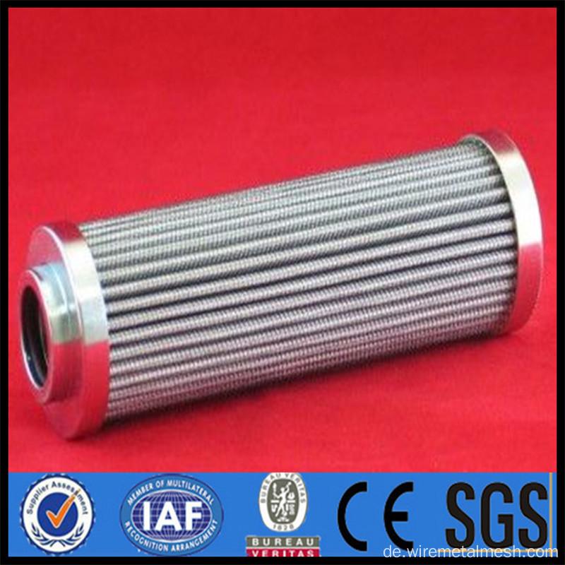 China Edelstahl 5um Draht Mesh Filter Patrone Hersteller