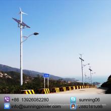 Générateur solaire d'énergie éolienne Ce certifié pour l'éclairage et la surveillance