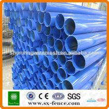 postes galvanizados e revestidos em PVC