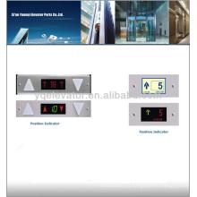 Indicador de posición del elevador, indicador del pasillo del elevador, indicador del lcd del elevador
