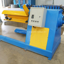 Decoiler hydraulique automatique de 5 tonnes pour la machine de formation de petit pain