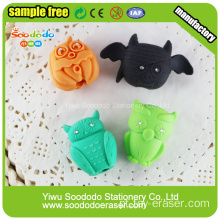 Cute Fancy 3D Food Ice Cream Shape borrachas