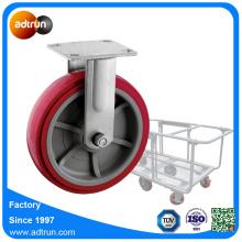 200 mm styva hjul för transportkorg